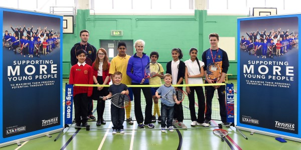 Judy Murray teams up with the Tennis Foundation to launch Education Strategy in Birmingham