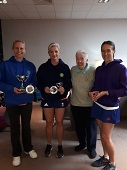 Trophy presentation from the Cheshire LTA  Senior & Super Senior Championships 2018