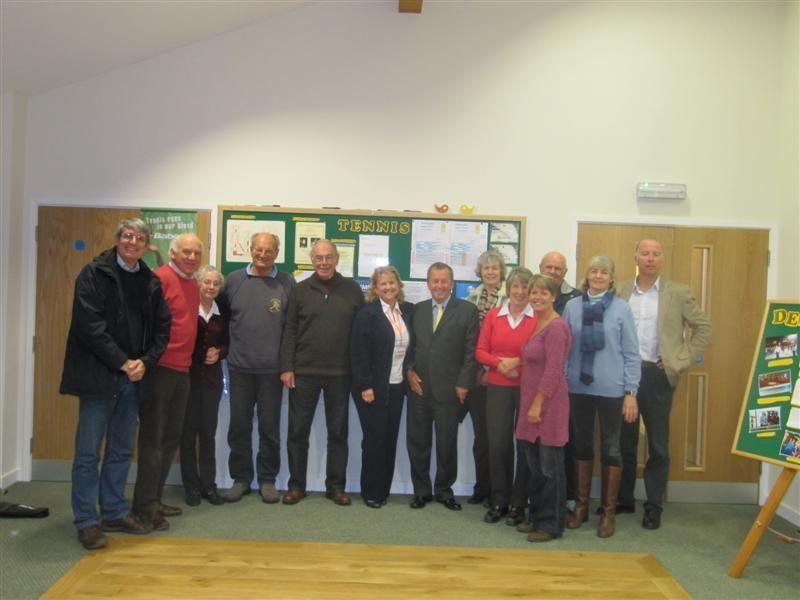 LTA President Derek Howorth visits Wiltshire - LTA