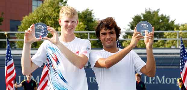 Kyle Edmund & Frederico Ferreira Silva by Getty Images