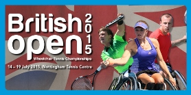 Look back at the 2015 British Open Wheelchair Tennis Championships