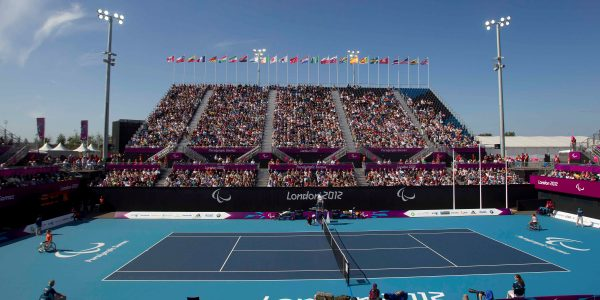 London 2012 Olympic Park To Stage NEC Wheelchair Tennis Masters In 2014 2016