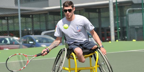 2c4f4889924 Jones inspires next generation at home of Paralympics - Tennis ...