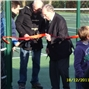 Opening of Widmer End resurfaced & refenced courts