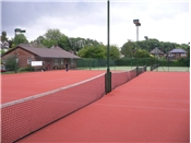 Artificial clay courts at High Wycombe LTC