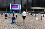 Tennis at the Portsmouth Guildhall Live Site