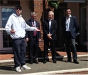LTA Chief Executive visits refurbished Portsmouth tennis sites