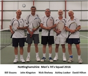 Mens O70's county match reports