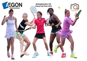 Nike Junior National Finals from 14th to 18th August at Nottingham Tennis Centre