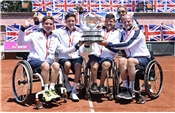 Great Britain make history as men's team win World Team Cup gold