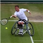 Wimbledon champions and Rio Paralympic medallists at Nottm Tennis Centre this week