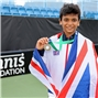 Britain's Hayat wins inaugural boys' singles gold at World Deaf Tennis Championships