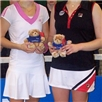 Johanna Larrsson (Sweden) - winner and Mel South(GB) - runner up