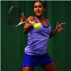 Junior US Open Champion Heather Watson during the AEGON Pro-Series Glasgow