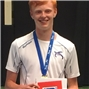 Photo - Scottish Junior 18U Champion, Christopher Edge